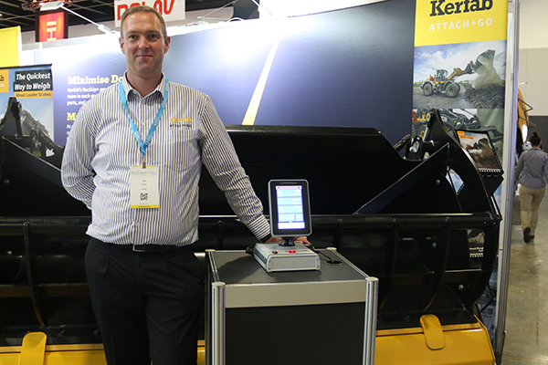 Kerfab showcases Attach+Go weighing systems at AWRE
