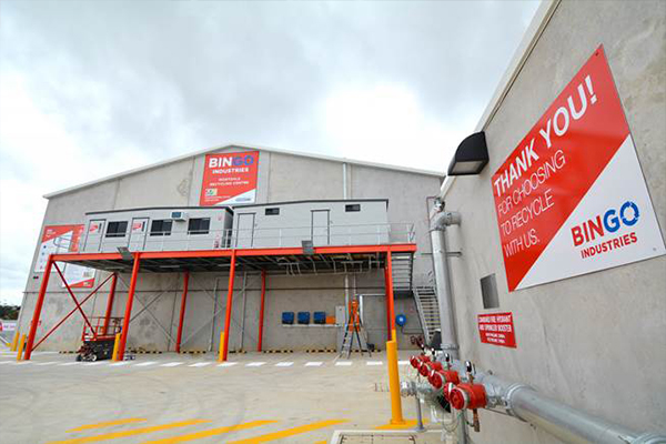 BINGO opens new Sydney recycling centre