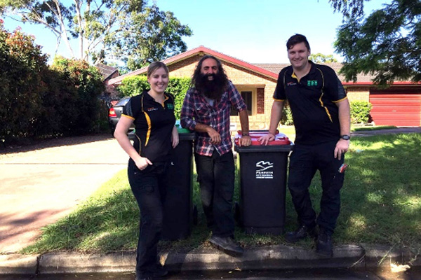 Out and about with Costa: Penrith City Council