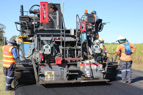 TSA and Logan City Council trial crumb rubber road