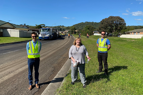 NSW council diverts 210 tonnes of waste with recycled road