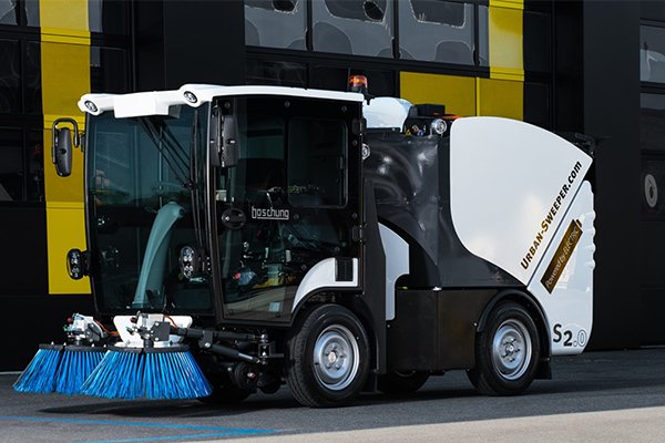 Garwood International releases Boschung's Electric Compact Sweeper