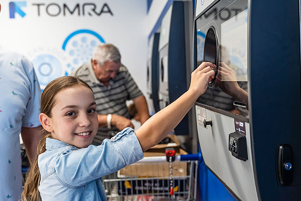 Charitable containers: TOMRA