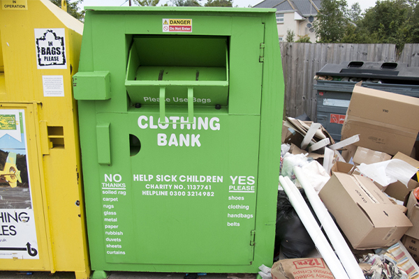 ACT revokes all charity bin licences to combat illegal dumping