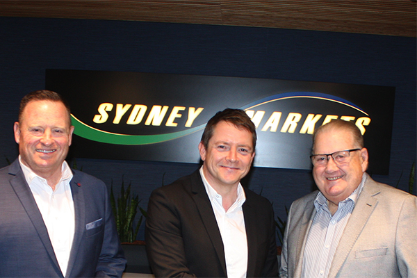 Veolia and Sydney Markets sign five-year contract extension
