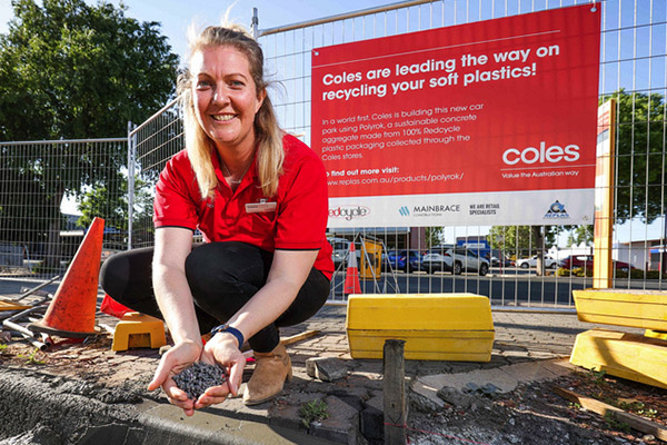 Coles to use Australian-first soft plastics recycling technology