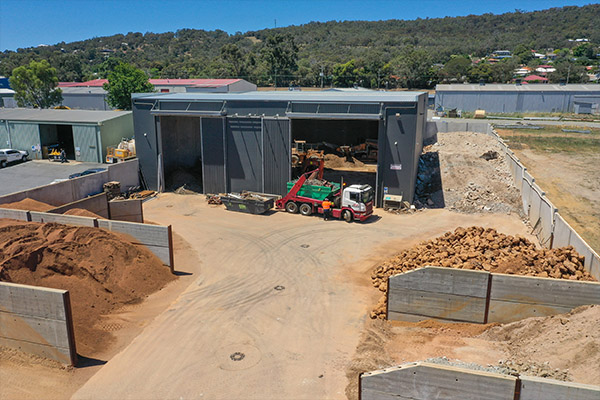 Fully operational and equipped licensed recycling plant for sale in WA