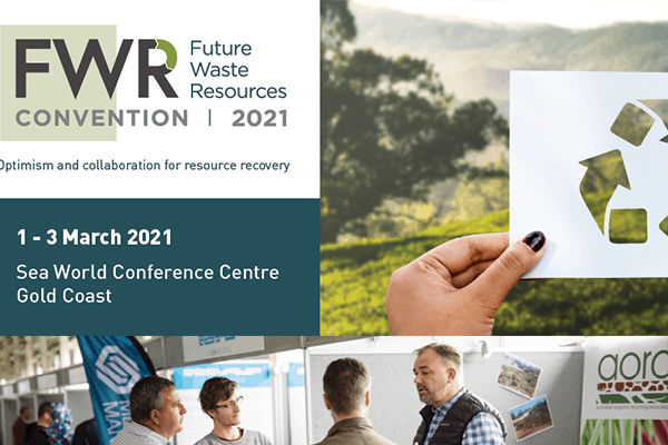 QLD set to host Future Waste Resources 2021 Convention
