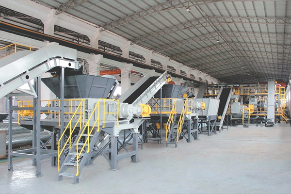Applied Machinery's Genox Tyre Recycling System