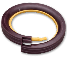 Hydraulic seals for best-bearing isolation and protection