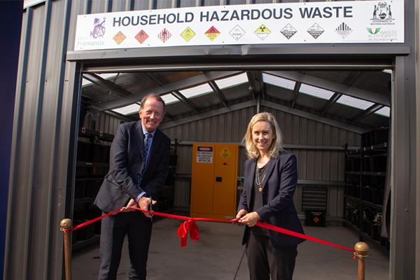 WA opens new hazardous waste facility