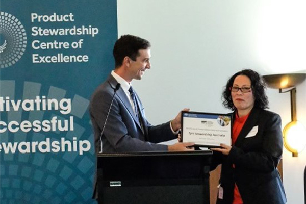 TSA recognised as best practice product stewardship