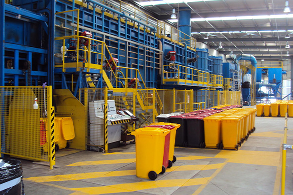 Clinical waste continuity: Veolia