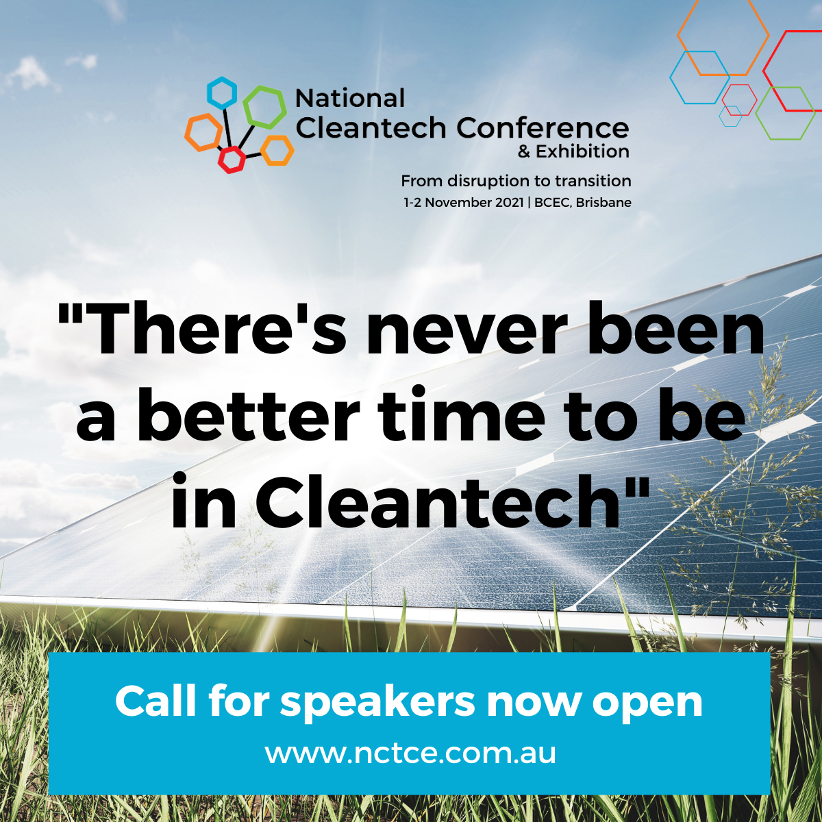 NCTCE opens call for speakers