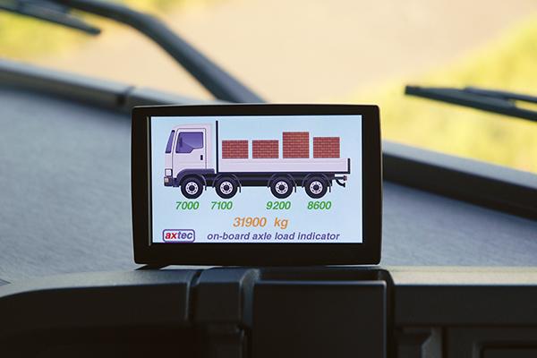 Axtec OnBoard Axle Load Indicator