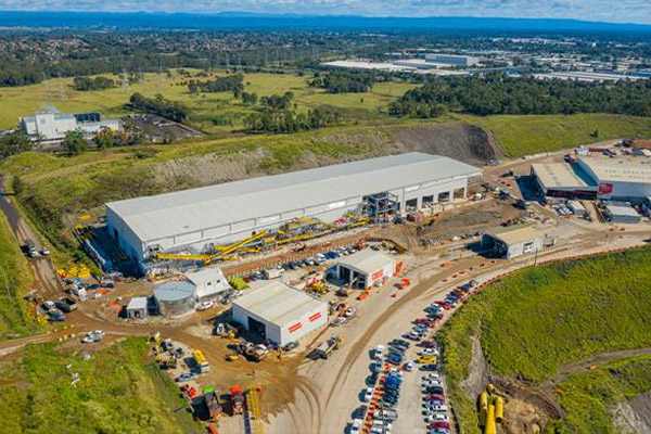 BINGO opens mixed waste recycling facility