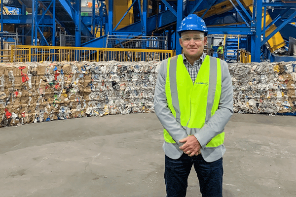 Cleanaway reopens Perth Material Recovery Facility