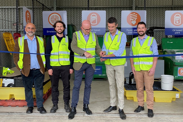 New community recycling centre opens in Blaxland, NSW