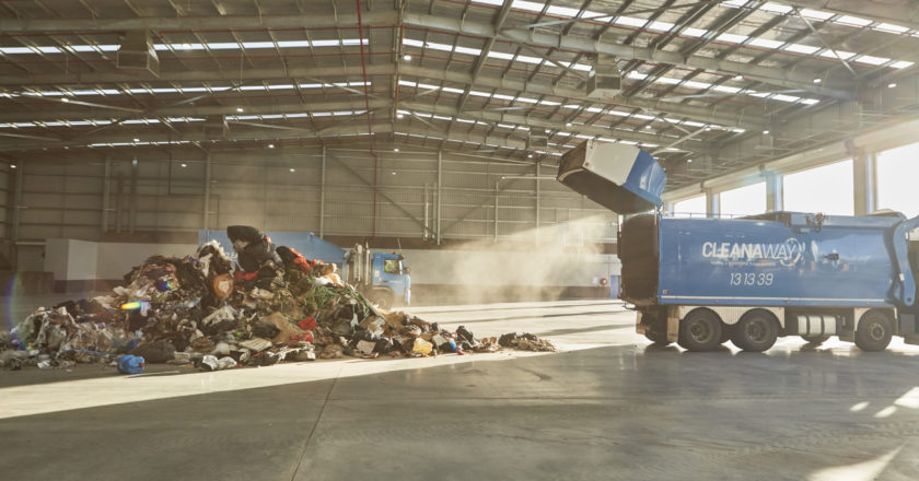 Cleanaway's South East Melbourne transfer station.