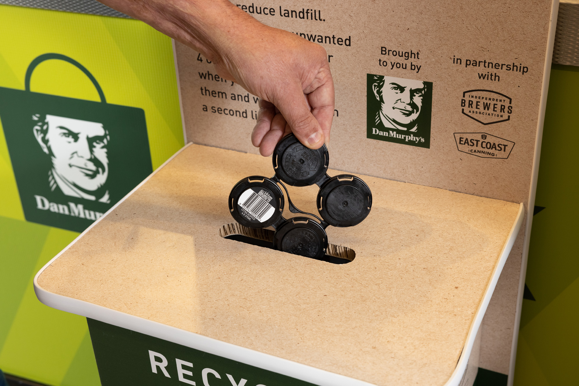 New recycling initiative aiming to increase beer can clip reuse