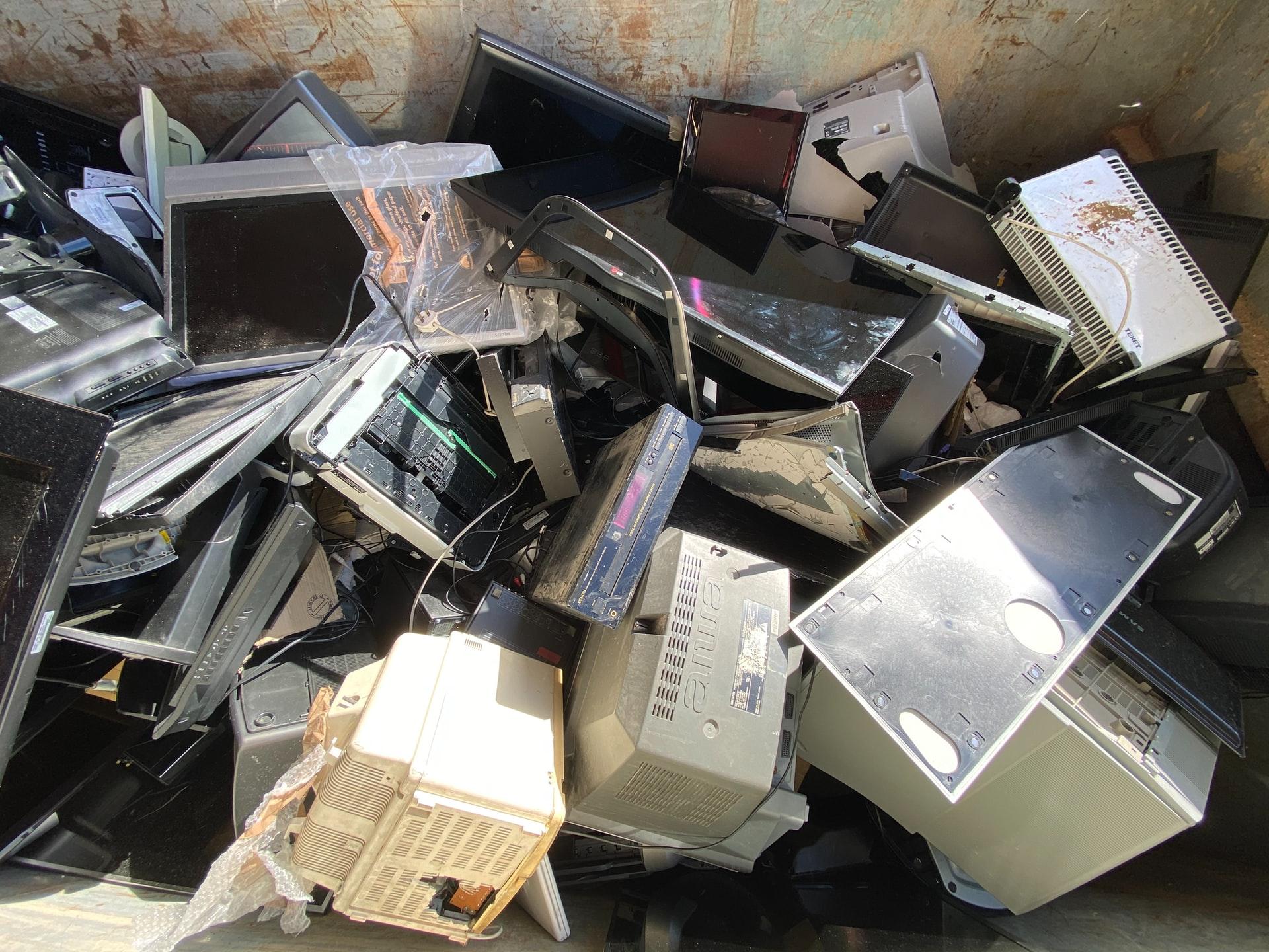 e-waste computers tv