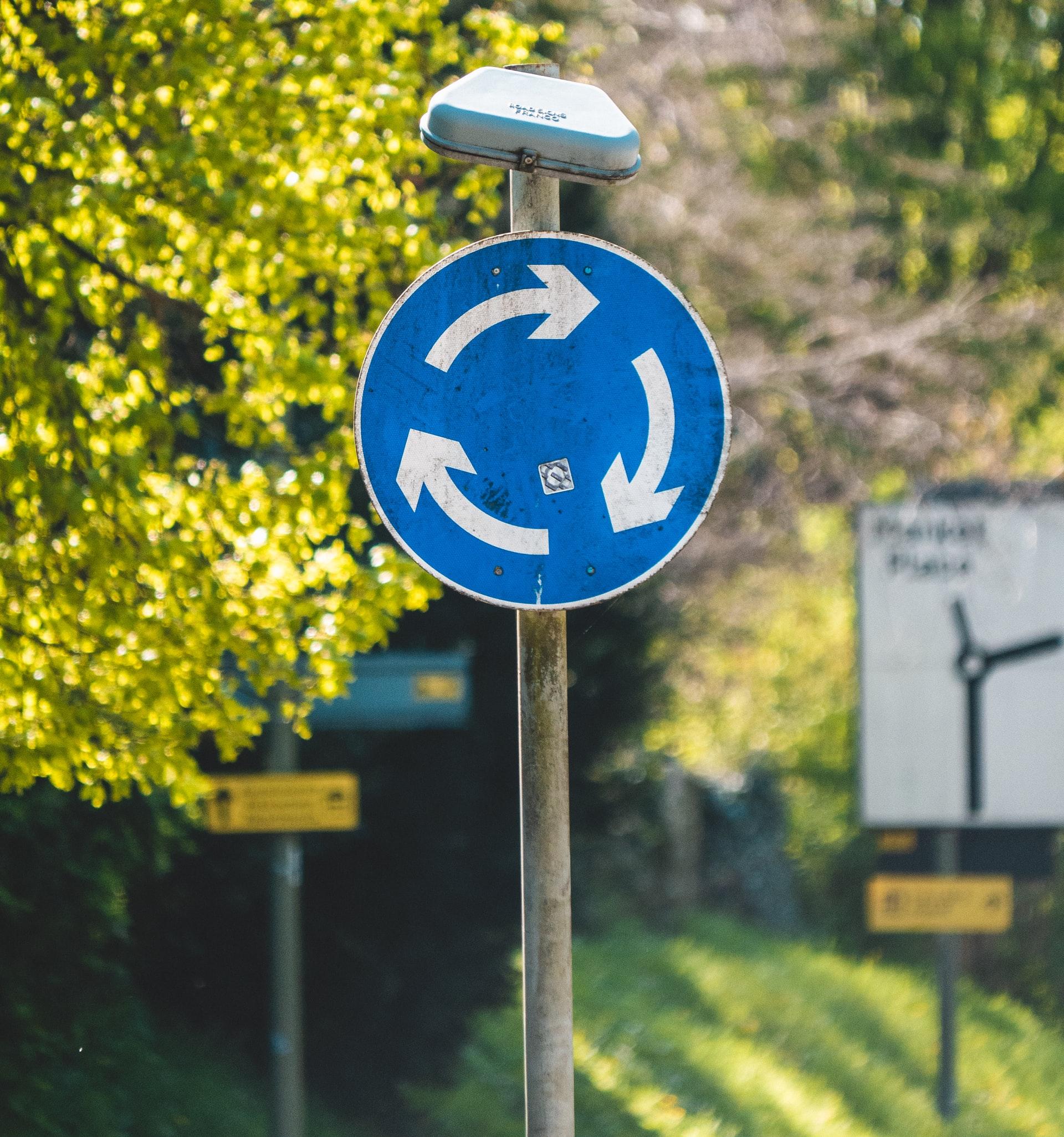 circular economy sign