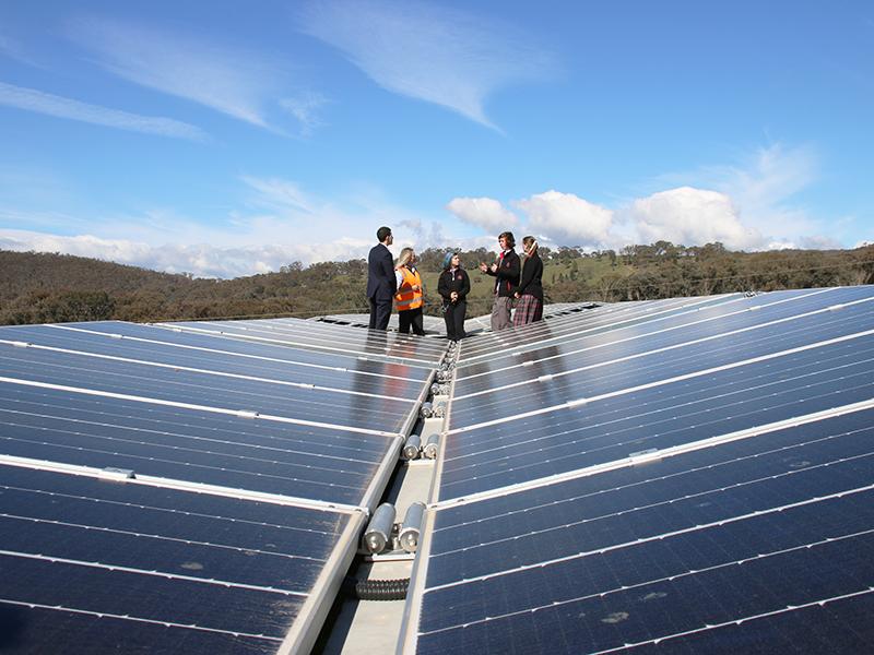 AlburyCity solar hub