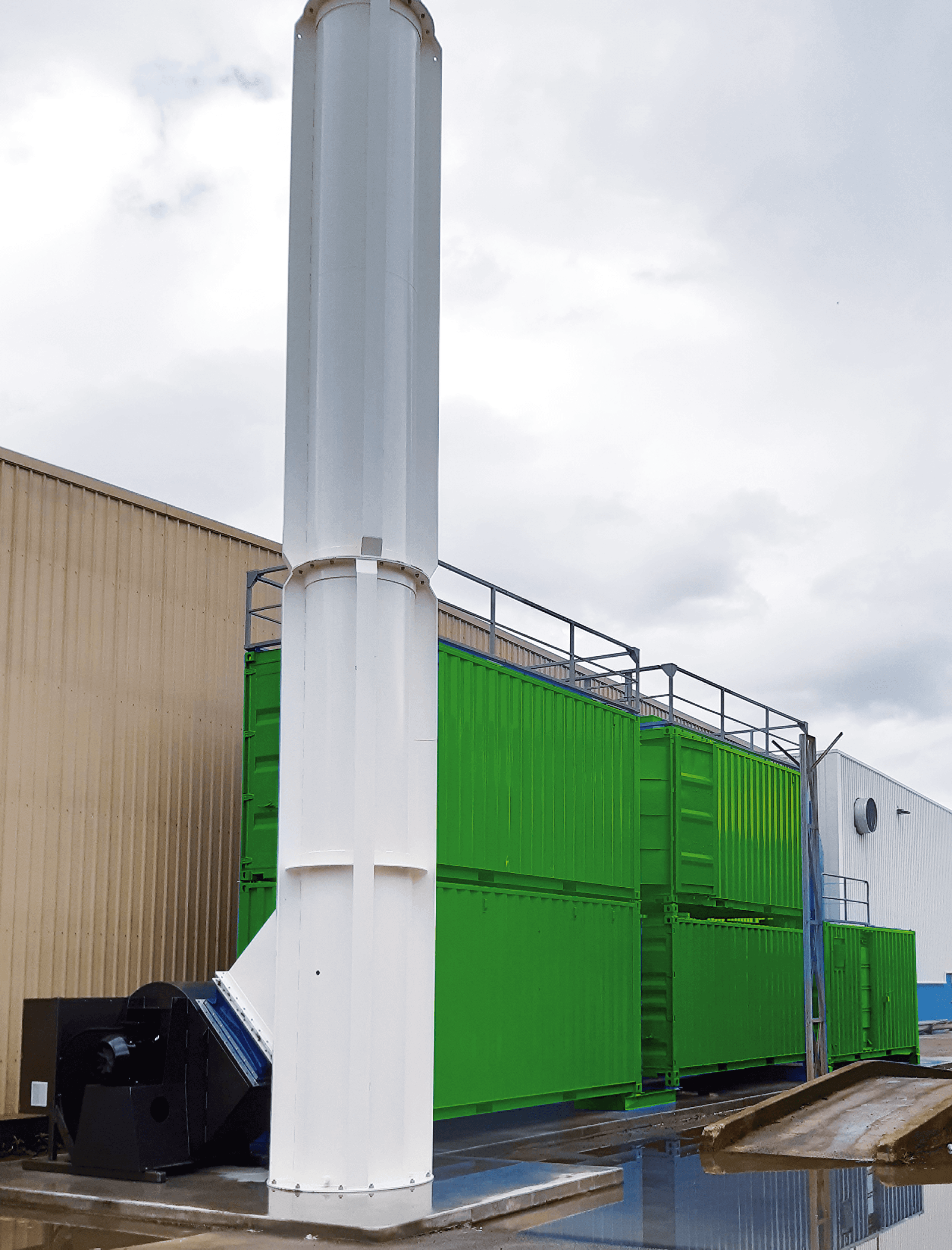 Dust Collector Rental's Environmental Capture Systems.