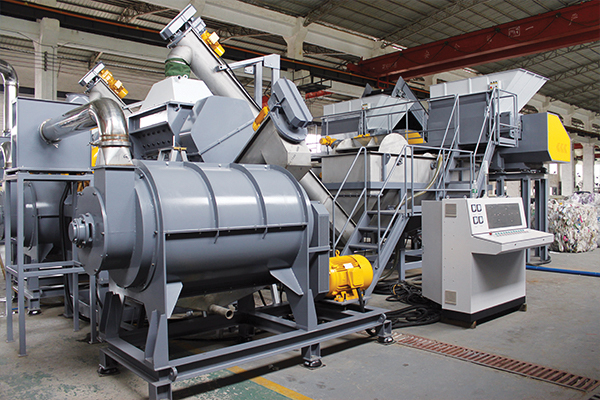 Plastic washing systems: Applied Machinery