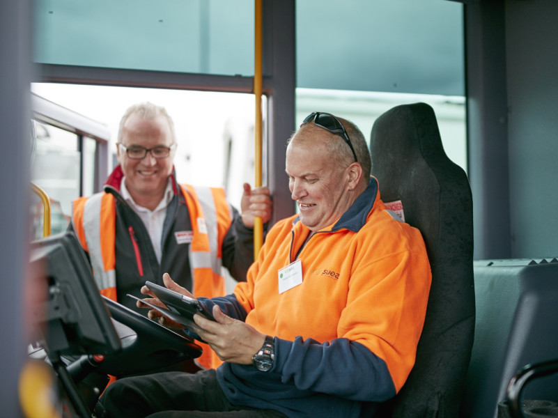 Suez waste collection drivers put trucks to the test