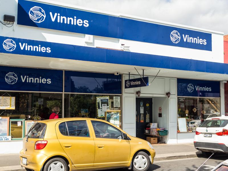 A Vinnies op shop store