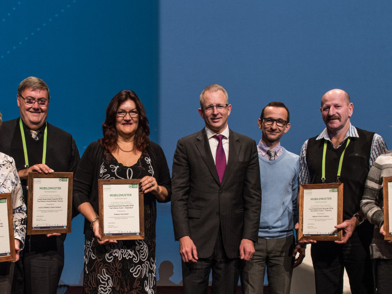 MobileMuster recycling awards