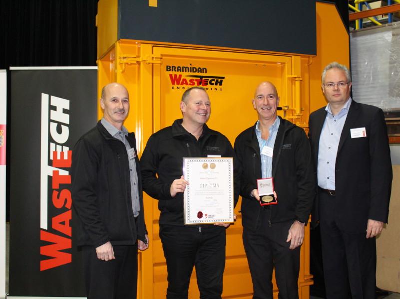 Wastech celebrates Danish award