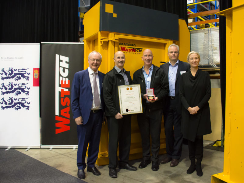Wastech underpins its reputation with latest award
