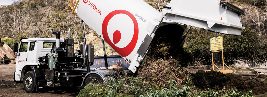 City of Hobart has partnered with Veolia for its kerbside green waste collections
