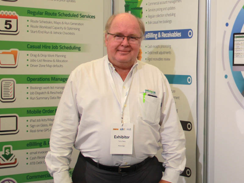 Terry Daley, CEO of ASP and Wastedge, which has been acquired by AMCS Group