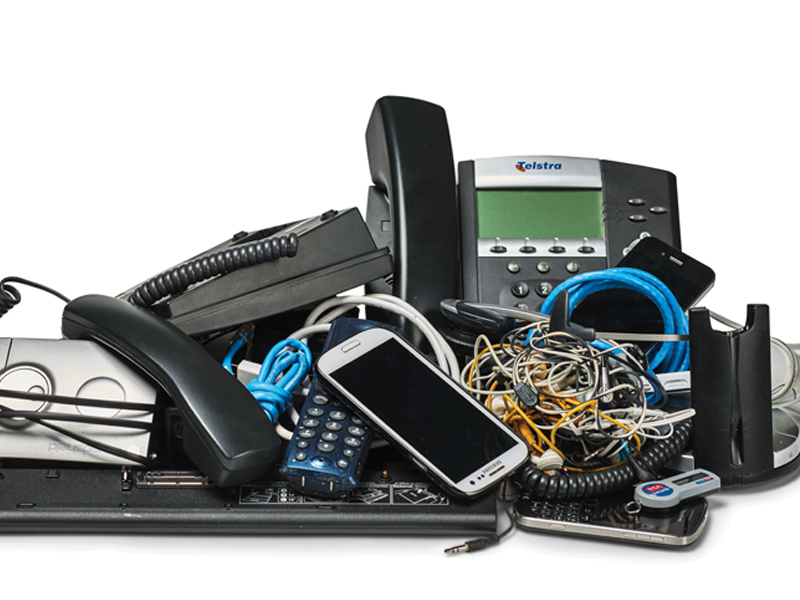 Telstra e-waste reuse and recycling strategy went live in November 2016