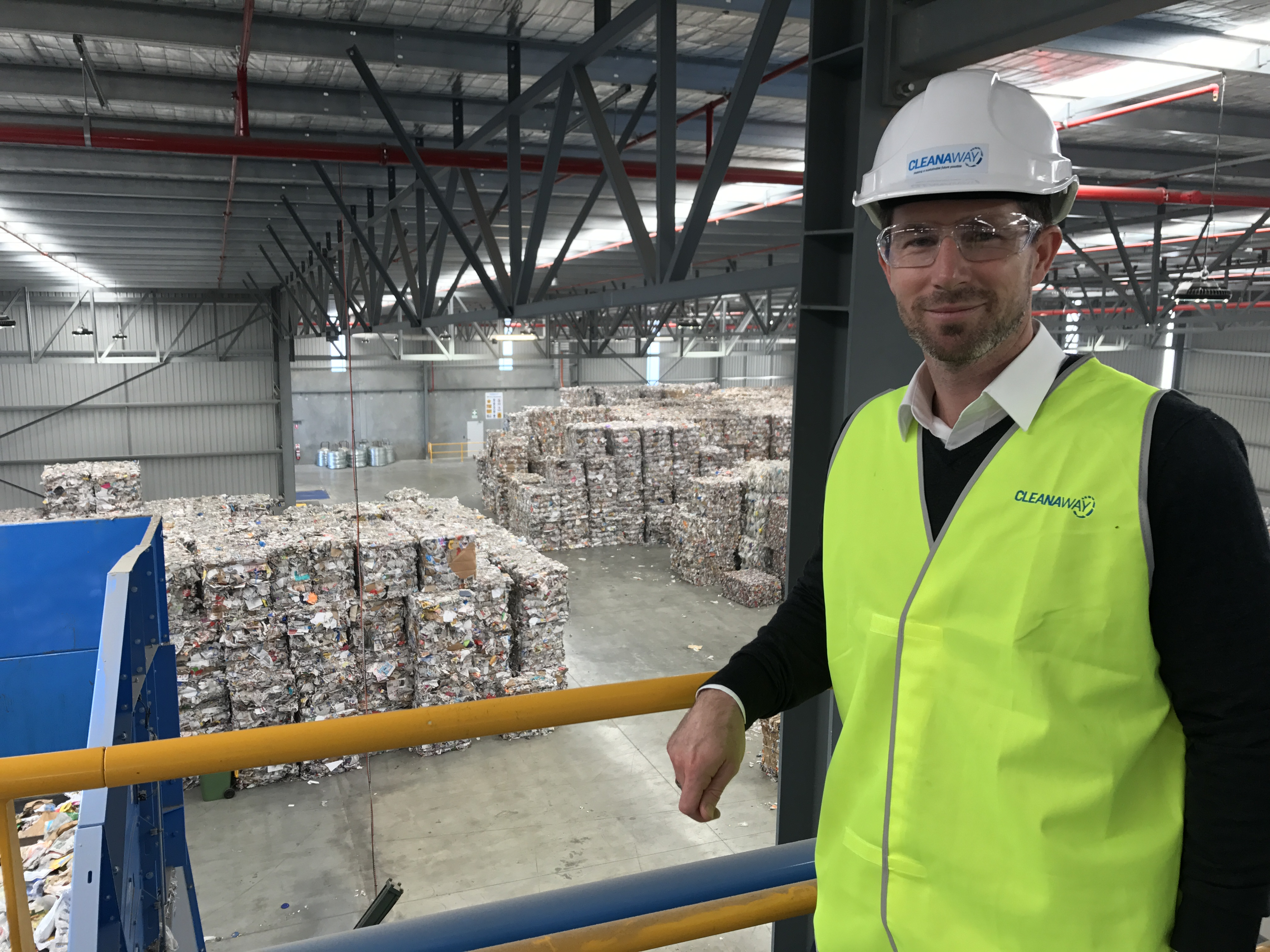 Cleanaway opens high-tech recycling facility in WA