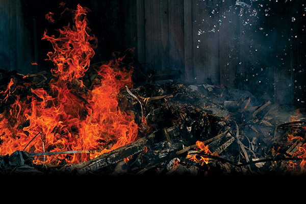 Reducing the risk of waste fires