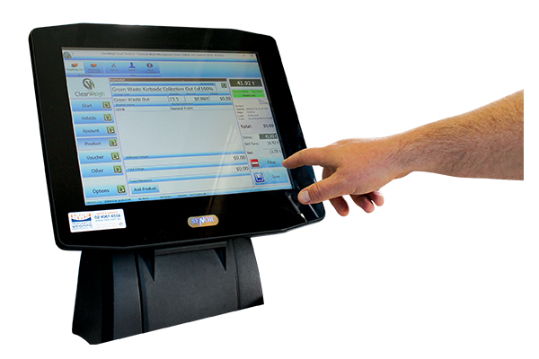 ClearWeigh waste management software