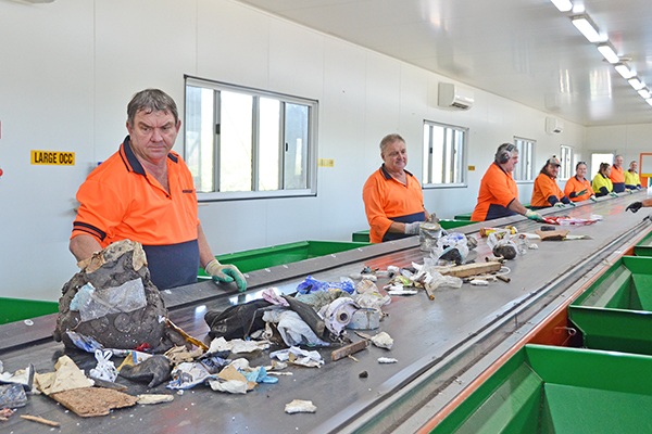 Lismore City Council's commercial waste sorting facility: Wastech Engineering