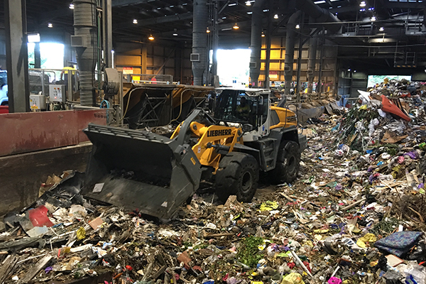 Tough as nails: Cleanaway acquires Liebherr wheel loaders