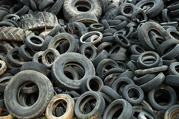 Numurkah tyre stockpile clean-up almost done