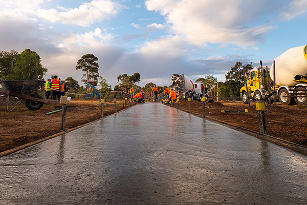 Victoria first recycled concrete trial in Hoppers Crossing