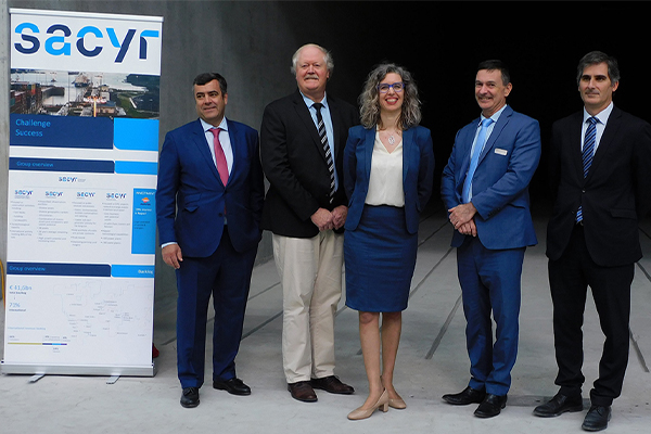 Sacyr opens waste treatment plant in south-east Melbourne