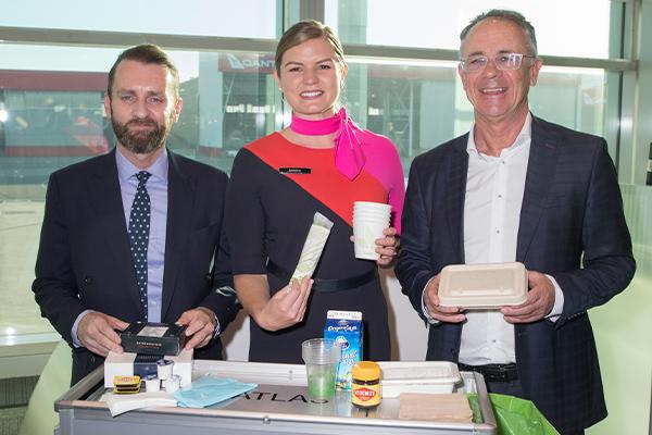 Qantas and SUEZ operate world's first zero waste flight